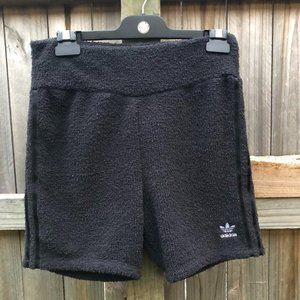 Adidas fluffy shorts size 12 but more a 10
